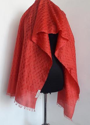 Шикарнейший шелковый шарф палантин
