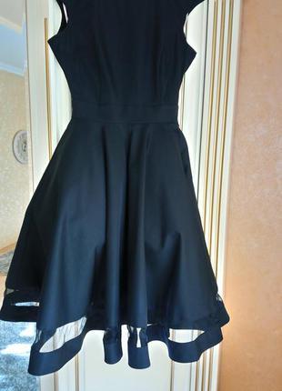 Платье чёрное,просто шикарное