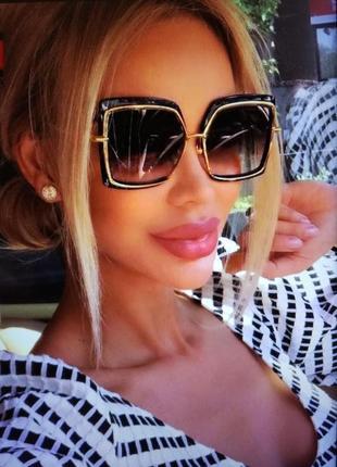 Очки солнцезащитные стильные модные от shauna