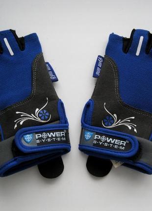 Женские фитнес перчатки woman´s power