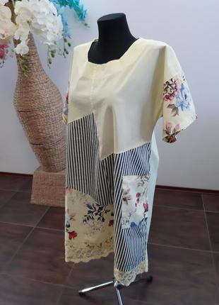 Платье италия коттон2 фото