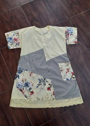 Платье италия коттон7 фото