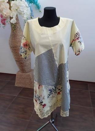 Платье италия коттон5 фото