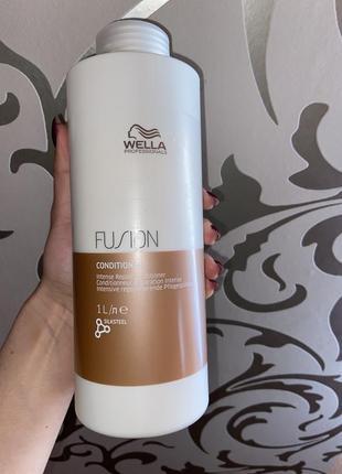 Wella fusion conditioner. бальзам -кондиционер для волос.