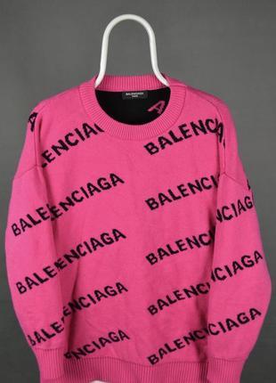 Женский свитер balenciaga оригинал размер м л