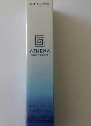 Туалетная вода oriflame athena bright breeze1