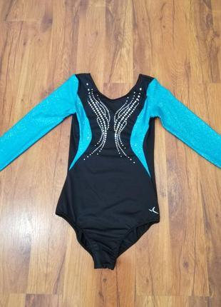 Купальник для гимнастики и танцев decathlon на 10-12 лет