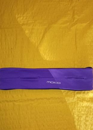 Пояс спортивный органайзер для бега moko