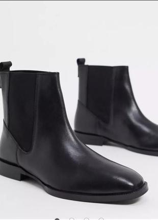 Черные ботинки asos челси