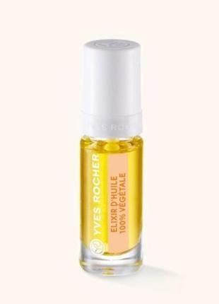 Растительное масло-эликсир для ногтей 5 мл ив роше yves rocher