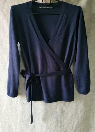 Кардиган кимоно на запах. zara.