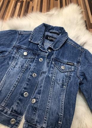 Новая джинсовая куртка logg