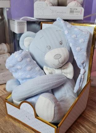 Набор для малыша,игркшка + пледик, люкс качество, стамбул.