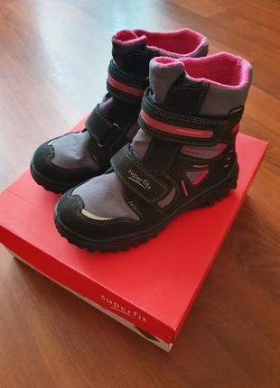 Суперфит зимние термо сапоги-ботинки