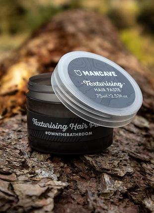 Паста для волос mancave texturising hair paste