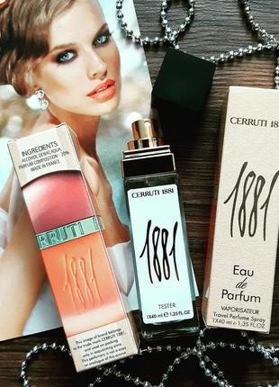 Cerruti 1881 тестер 40 мл, женский парфюм, духи, парфюм, туалетная вода, парфюмы