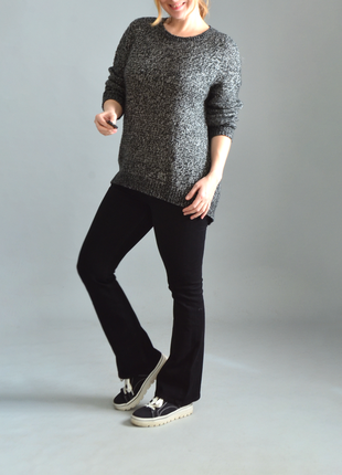 3015\70 меланжевый свитер new look l