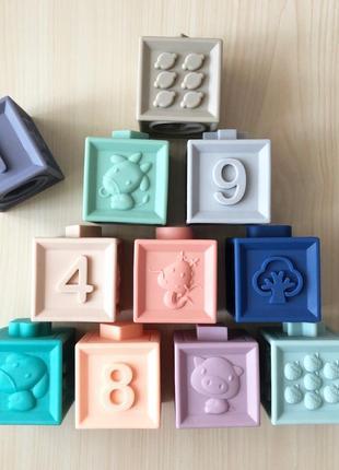 Кубики из пищевого силикона
