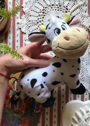 Мягкая игрушка корова коровка