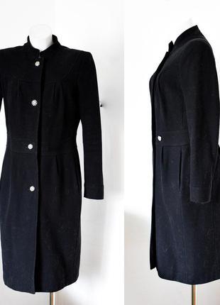 Пальто кашемировое длинное arber