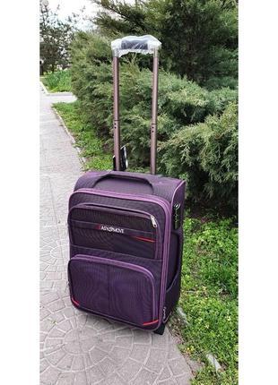 Дорожный чемодан на 2 колесах