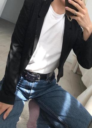 Стильный укороченый пиджак h&m