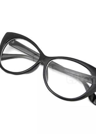👀очки с прозрачными стёклами 👀