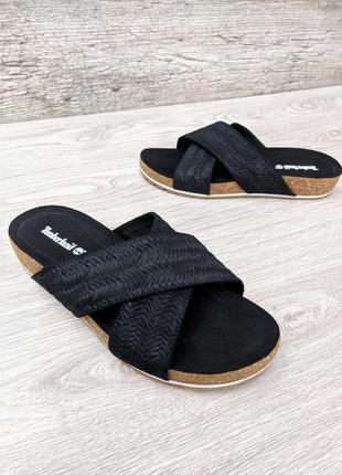 Timberland кожаные замшевые шлепанцы birkenstock сланцы босоножки сандалии тапочки