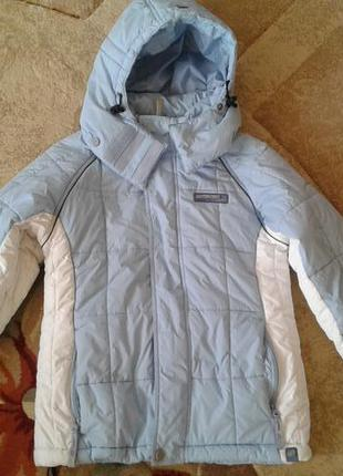 Фирменная спортивная лыжная оригинальная куртка сезон осень /зима от protest m р.