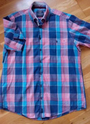 Рубашка в клетку club casa moda