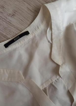 Блуза шовкова boss6 фото