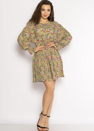 Платье с весенним принтом 632f004-2