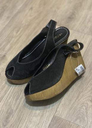 Фирменные босоножки туфли клоги 39-40р