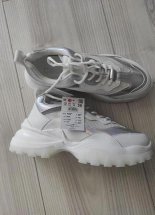 Кроссовки cropp, кеды, кросівки на масивній підошві