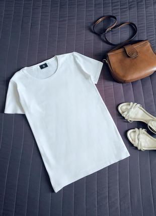 Белая базовая футболка (100% хлопок) bogner оригинал