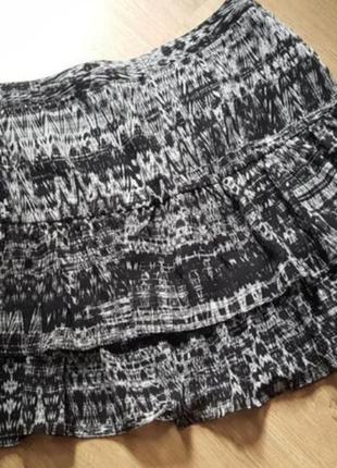 Легкая летняя юбка h&m