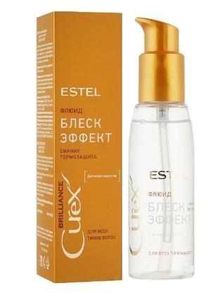 Estel флюид-блеск с термозащитой для всех типов волос