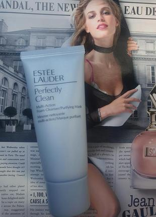 Пенка для умывания perfectly clean multi-action foam cleanser/purifying mask el, 30мл.