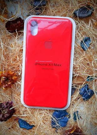 Чехол на iphone xs max💥 silicone case💣