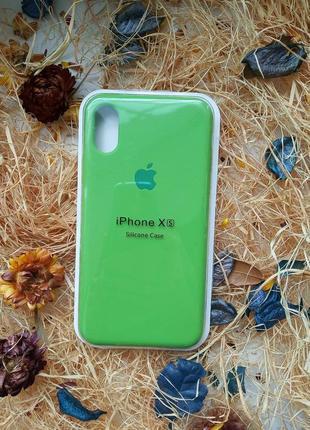 Чехол на iphone xs💥 silicone case 💣