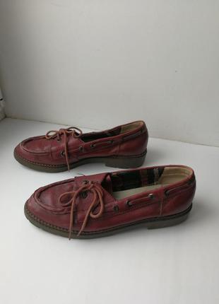 Винтажные туфли (лоферы, оксфорды, топсайдеры)