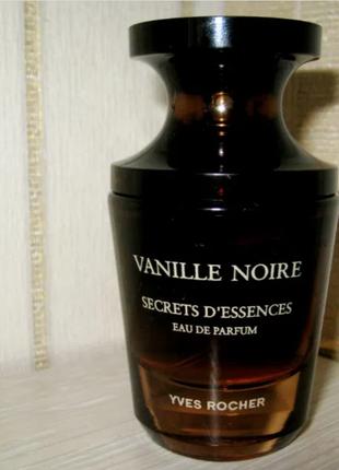 Парфумированная вода vanille noire черная ваниль от ив роше 30мл. yves rocher