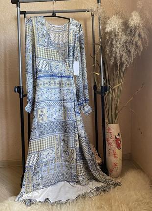 Новое платье на запах 8 р s. justeab
