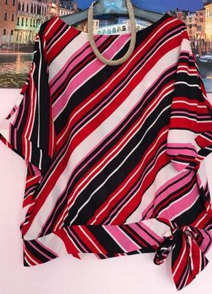 Модная фирменная блуза 52-54 размер