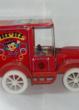 Винтаж машинка авто электромеханическая norma tsirkus ссср таллин