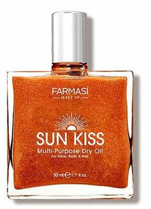 Суха бронзуюча олія sun kiss