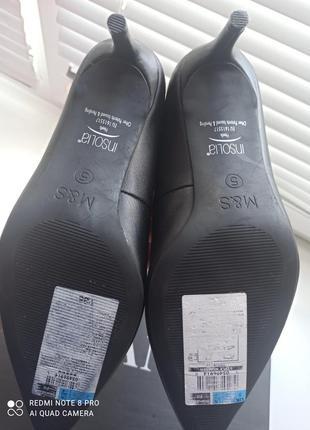 Туфли лодочки кожаные10 фото