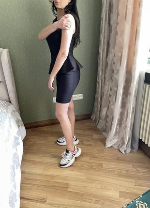 Черное платье topshop3 фото
