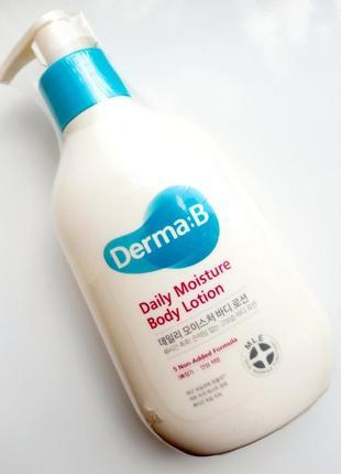 Увлажняющий лосьон для тела derma-b daily moisture body lotion 257 ml