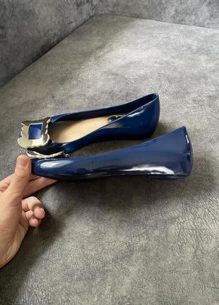 Силиконовые резиновые туфли балетки лодочки vivienne westwood2 фото
